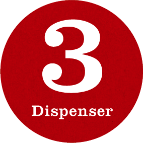 no3 dispenser